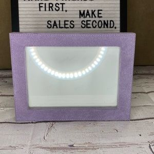 Other - Purple Fabric Picture Frame